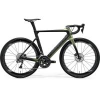 Велосипед Merida Reacto Disc 8000-E SilkFogGreen/Black 2020 XL(59cm)(32033)